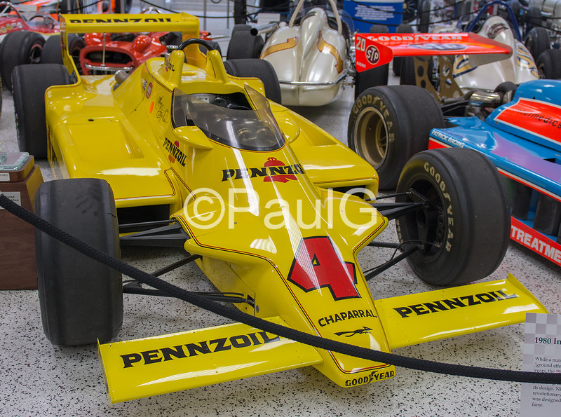 1980 Indianapolis 500 Winner - Chapparal