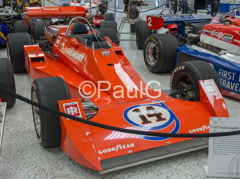 1977 Indianapolis 500 Winner - Coyote