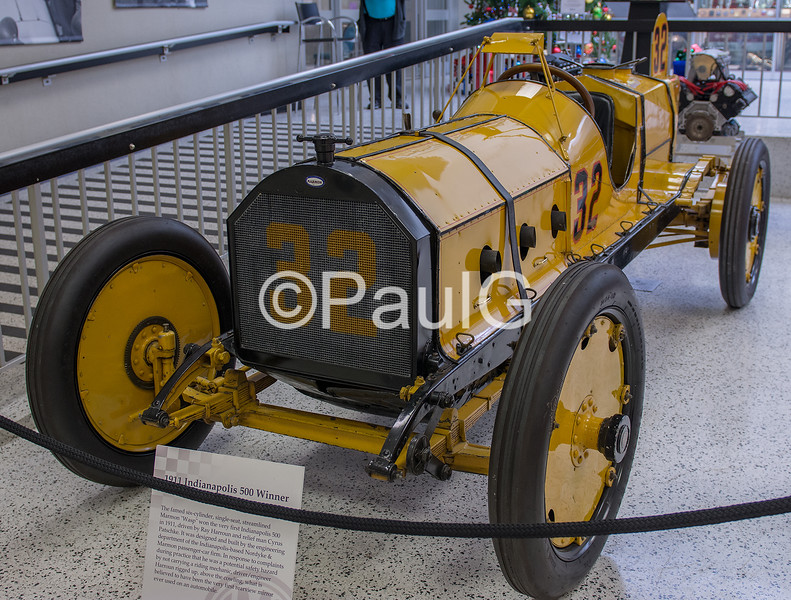 1911 Indianapolis 500 Winner - Marmon Wasp