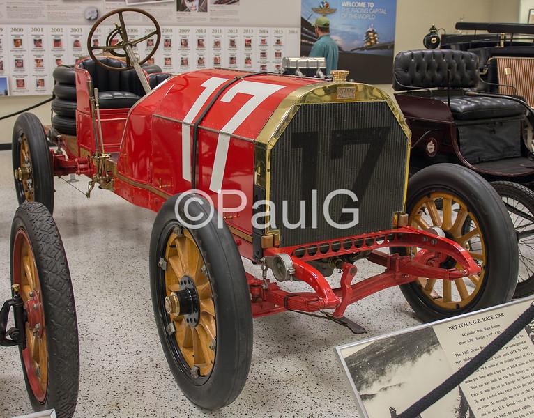 1907 Itala Grand Prix Race Car