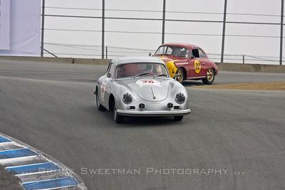#36 1957 Porsche 356 Herb & Rose Wysard #32 1962 Porsche 356  Phillip VerWoert