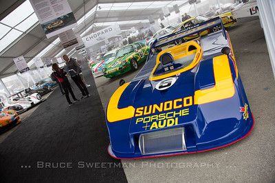 The ex-Mark Donahue 917/30-003 heads an awesome collection of race cars.