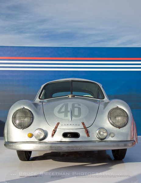 Porsche Rennsport Reunion V Platz Display