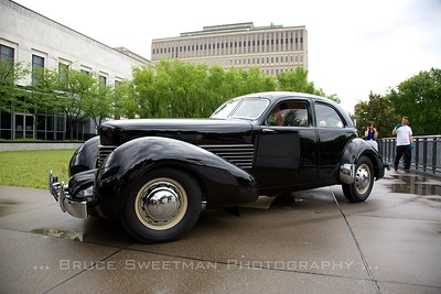"""1936 Cord 810 """"Armchair"""" Beverly Sedan Collection of Richard and Debbie Fass"""