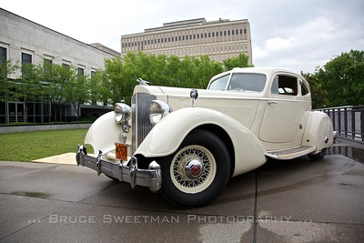 1934 Packard Twelve Model 1106 Sport Coupe by Lebaron Collection of Robert and Sandra Bahre