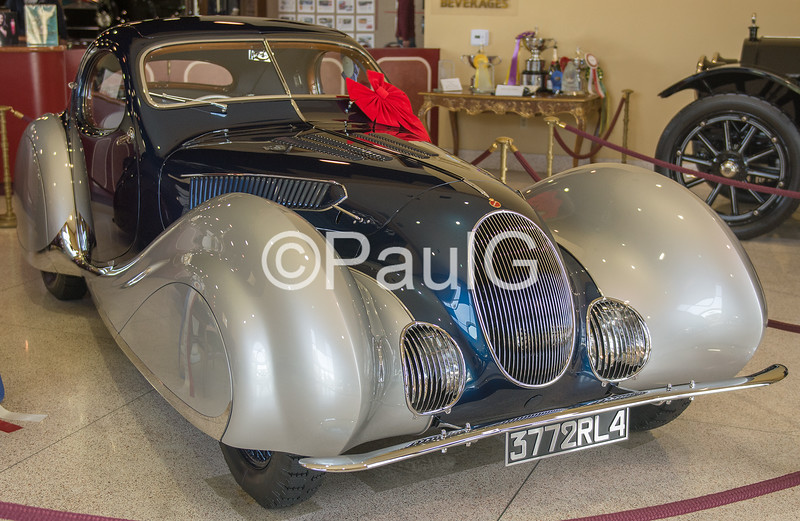 1937 Talbot-Lago T150 C-SS Sport Coupe