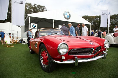 1958 BMW 507. Tom Pesikey.