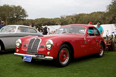 1950 Maserati A6 1500 PF. Tom Smith and Don Polak.