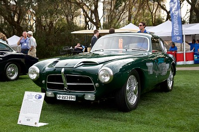 1954 Pegaso Z-102 Touring Berlinetta. Robert and Susan Bishop.