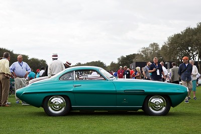 1953 Fiat 8V Supersonic. Carrozzeria Ghia. One of 15 made.Sports and GT Cars(1946-1954).