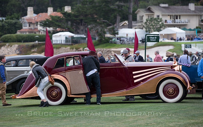 1937 Rolls-Royce Phantom III Freestone and Webb Sedanca de Ville