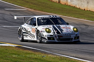 The Alex Job Racing 911 GT3 Cup Porsche.