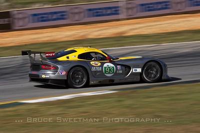 The #93 SRT Motorsports Viper GTSR.