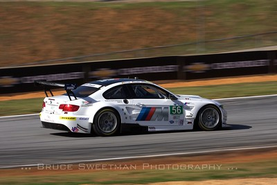 The Team RLL #56 BMW E92 M3.