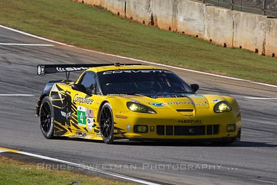 The #4 Corvette Racing C6 ZR1.