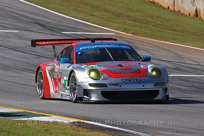 The #44 Flying Lizard Motorsports Porsche 911 GT3 RSR.