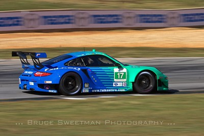 The Team Falken  Porsche 911 GT3 RSR.