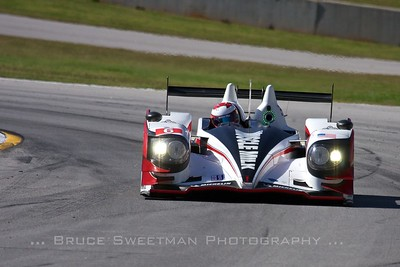 The Muscle Milk HPD ARX-03a qualified second in P1 with a time of 1:09.428.