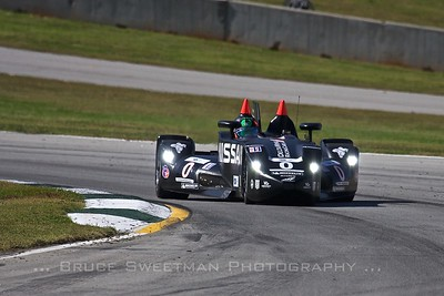 Gunnar Jeanette hustled the DeltaWing to a lap time of 1:12.850—squarely in P2 territory.
