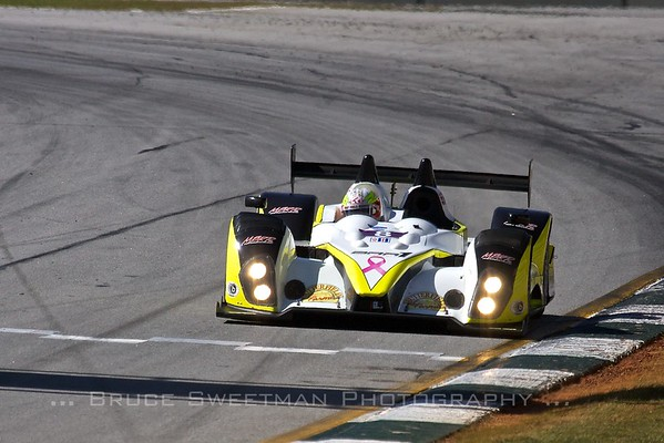 Kyle Marcelli took the PC pole in the Merchant Services Racing Oreca FLM09 with a lap of 1:14. 099.