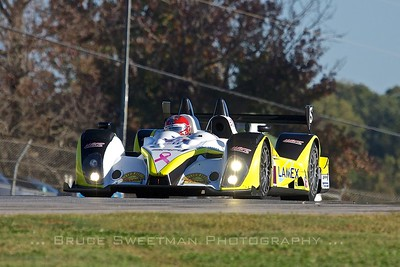 The PC pole-sitting Merchant Services Racing Oreca FLM09.