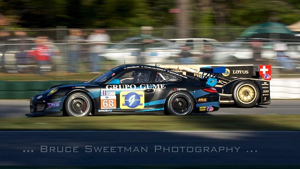 The Racers Group 911 GT3 Cup Porsche.