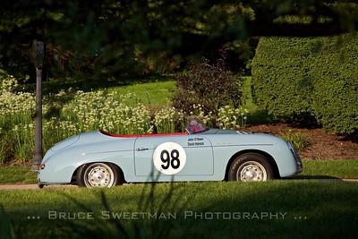 Gerald McCormick's ex-John O'Steen SCCA-winning 1957 Speedster.