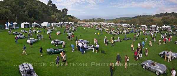 The Porsche Race Car CLassic Quail Lodge Farm Field Carmel, California October 16, 2011