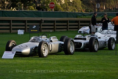 (left to right) •1962 Porsche 804 Formula 1 Chassis No. 804-03 •1962 Porsche 804 Formula 1 Chassis No. 804-01