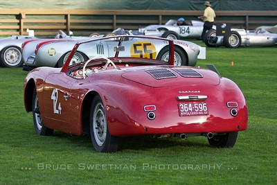 1952 Porsche Typ 540 Aluminum Sport Roadster Chassis No. 12336