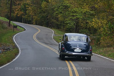 Following a 1962 BMW 3200S.