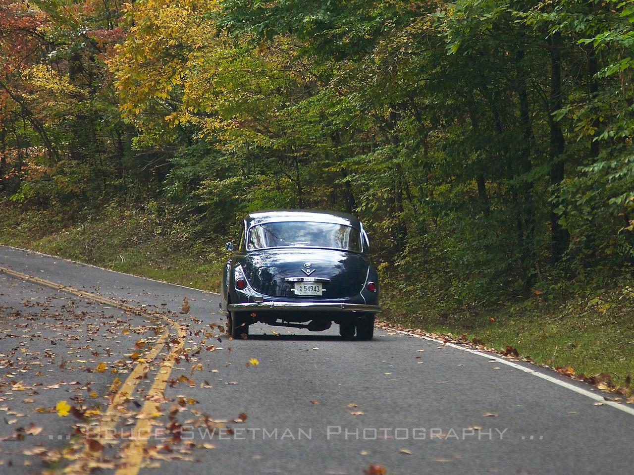 Following a 1962 BMW 3200S.