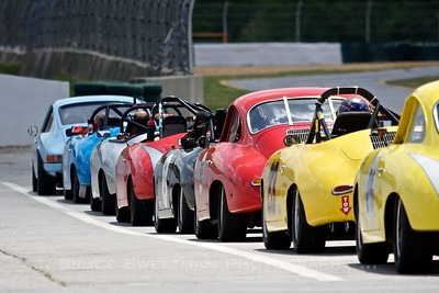 Group 2 had a strong 356 Porsche contingent.