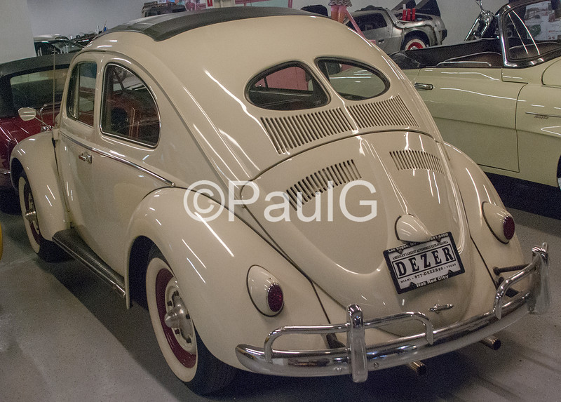 Volkswagen Type 1 Ragtop Split Window