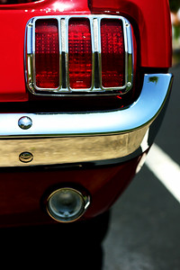 1966 Ford Mustang owned by Jerry Seavy. © 2010 Joanne Milne Sosangelis. All rights reserved.