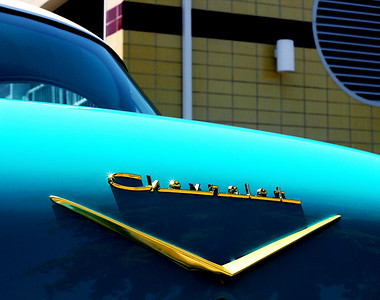 1957 Chevrolet Bel Air Sport Sedan. © 2010 Joanne Milne Sosangelis. All rights reserved.