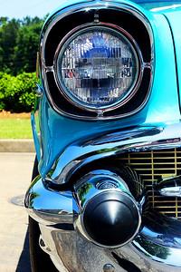 1957 Chevrolet Bel Air Sport Sedan. © 2010 Joanne Milne Sosangelis. All rights reserved.