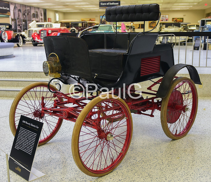 1899 Waverley Electric Car