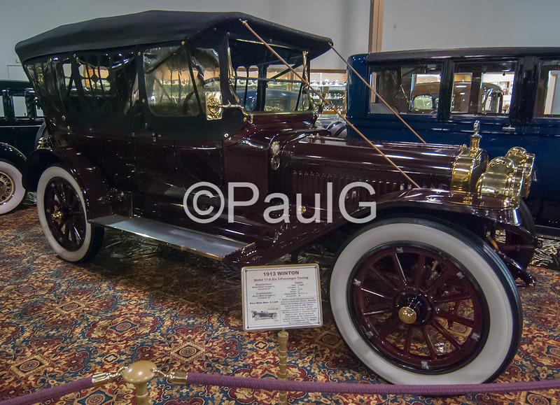1913 Winton Model 17-D Six 5-Passenger Touring