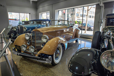 1934 Packard 12 Sport Phaeton by LeBaron Coachworks