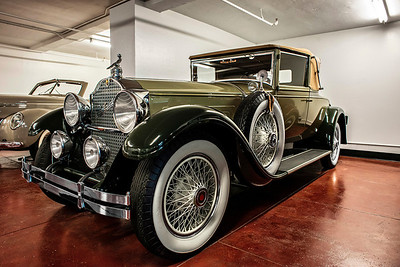 1930s Packard Convertible Coupe