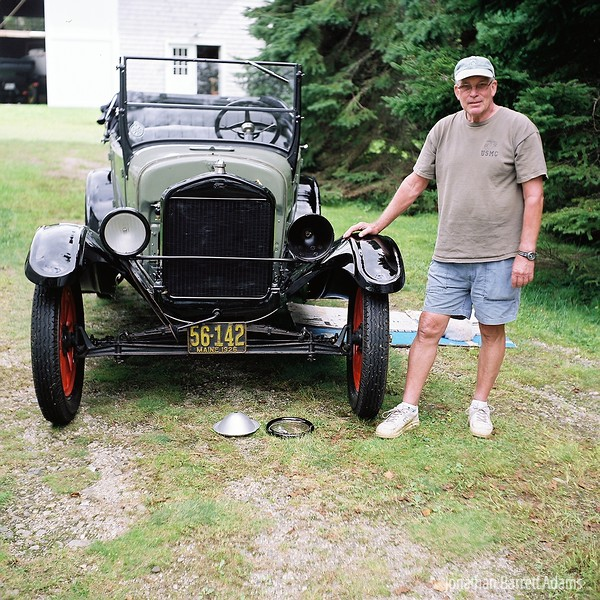 Pete with his Model T