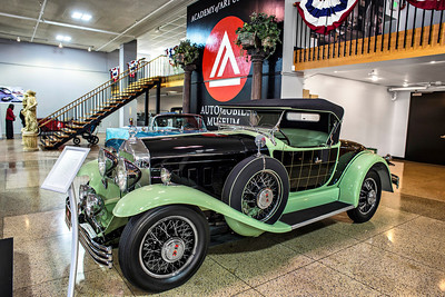 1930 Willys-Knight Great Six Plaid-Side Roadster