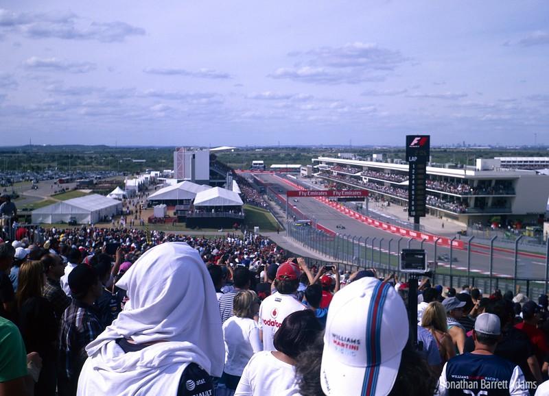 Lap 1, 2014 American Grand Prix