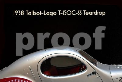 DSC_0458 1938 Talbot-Lago T-150C-SS Teardrop Roof Hood Trunk
