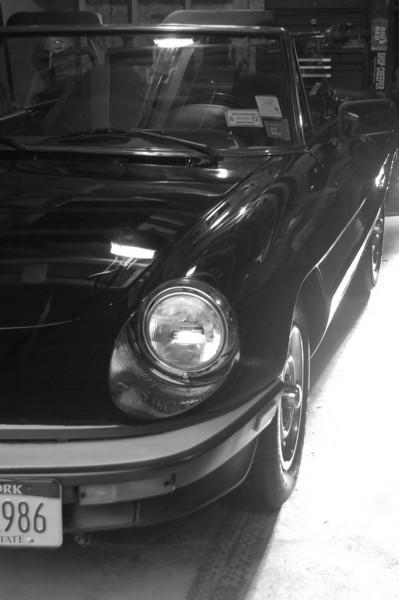 Dad's 87' Alfa Romeo Spider