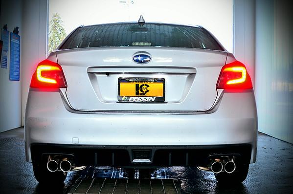 Elwin & Tom's Subaru WRX's