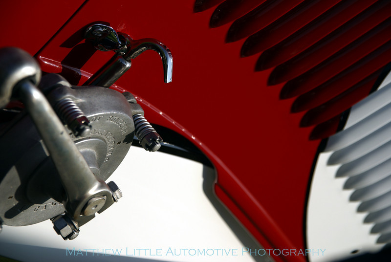 1934 Ford Pierson Brothers Coupe detail