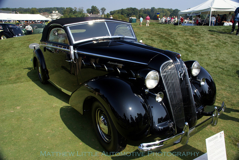 1937 Supercharged Graham Paige 116 convertible
