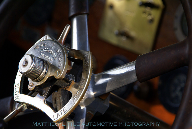 1923 Rolls-Royce Silver Ghost tourer detail